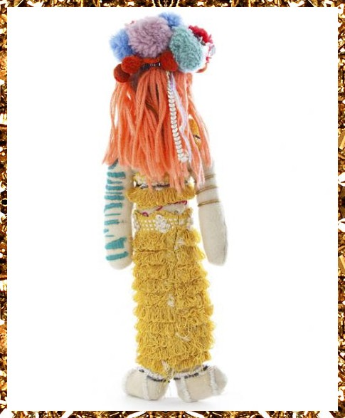 Trippy Tranny Tribe art doll £169, a truly unique decorative artefact from Kingdom of Razz