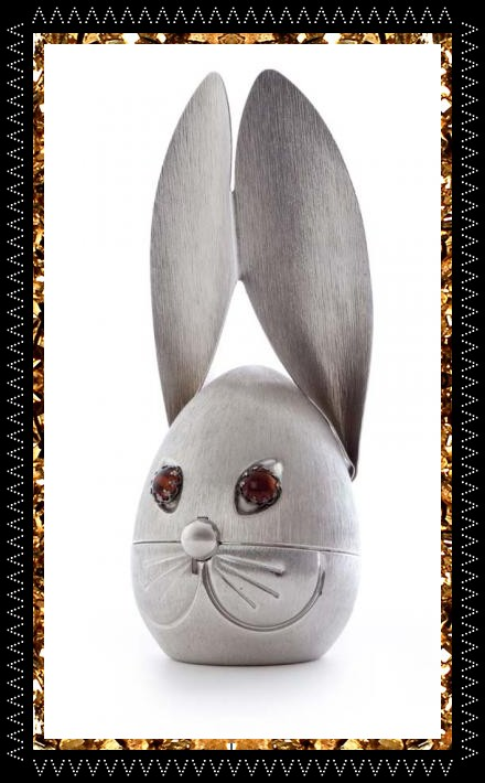 Cool vintage rabbit money box, quirky home accessories form Kingdom of Razz