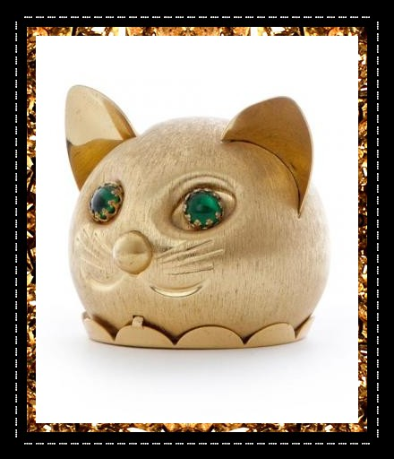 Totally cool metal cat money box £40, a quirky decorative artefact from Kingdom of Razz., new arty concept store.