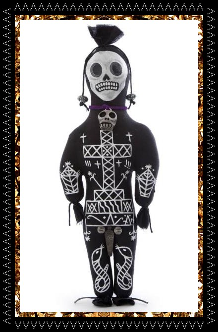 Handcrafted voodoo art doll £69 from Kingdom Of Razz